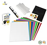 "Image of BEECRAFT Ez-Ply Heat Transfer Vinyl BUNDLE | 12 Sheets + 1 Bonus Teflon Sheet, E-Book & Instructions | 100% PU HTV | 12""x10"" 
