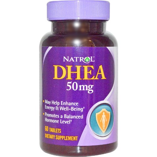 Natrol DHEA - 50 mg - 60 comprimés