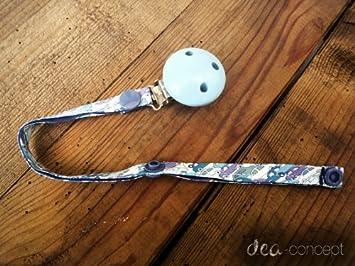 dea-concept chupete - algodón Liberty Cars azul - Clip ...