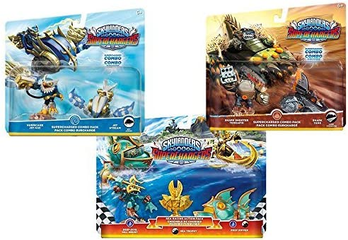 Amazon Exclusive: Skylanders Superchargers: Fly, Dive, Drive Toy ...