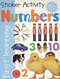 Sticker Activity Numbers, Roger Priddy, 0312491603