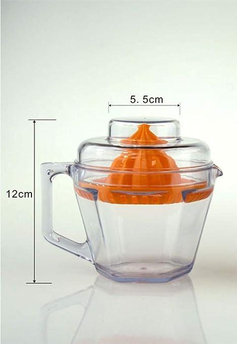 QISNZI Máquina exprimidora manual de zumo de limón para uso manual de la máquina de zumo de limón.: Amazon.es: Hogar