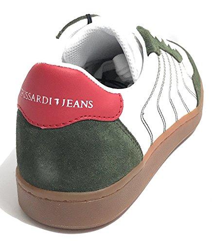 Jeans Chaussures Trussardi Pour Homme De Gymnastique 1Tqdqx0w