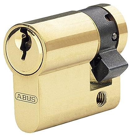 lat/ón Abus E5mm 30//80 Brass Cilindro de la Puerta 30 x 80 mm