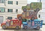 Enking Creative Big Truck Shape Cartoon Tinplate Money Box Piggy Bank (Random)