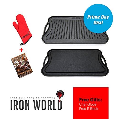 griddle cast iron electric - 6