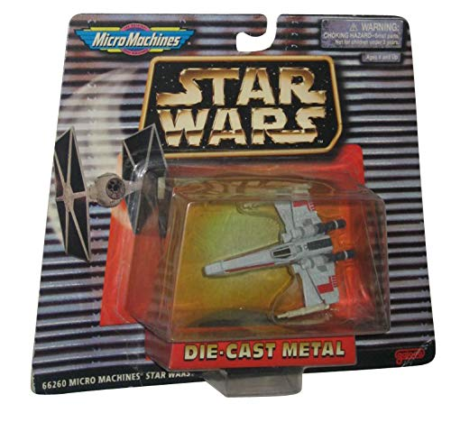 - Star Wars Micro Machines Die-Cast X-Wing