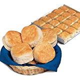 Bridgford Layer Pack, Old South Buttermilk Biscuits, 100 count