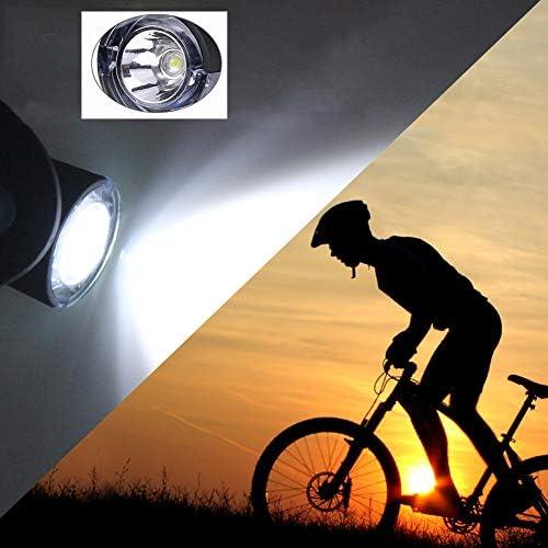 2er LED bicicleta reflector de radios de iluminación de luz radios rueda lámpara luz