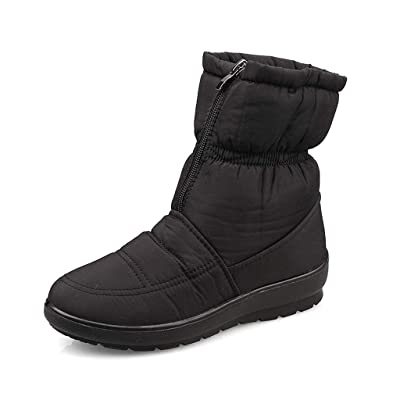 labato Women's Waterproof Winter Snow Boot, Wide Calf Cold Weather Boots | Shoes