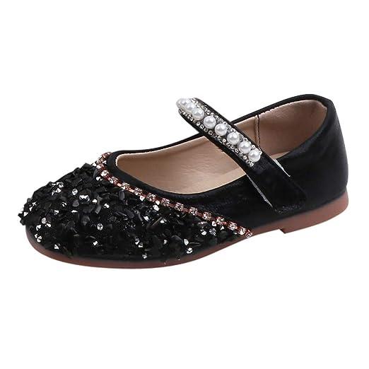 49704070a761f Amazon.com: 2019 Autumn Girls' Dress Shoes Toddler Little Girls ...