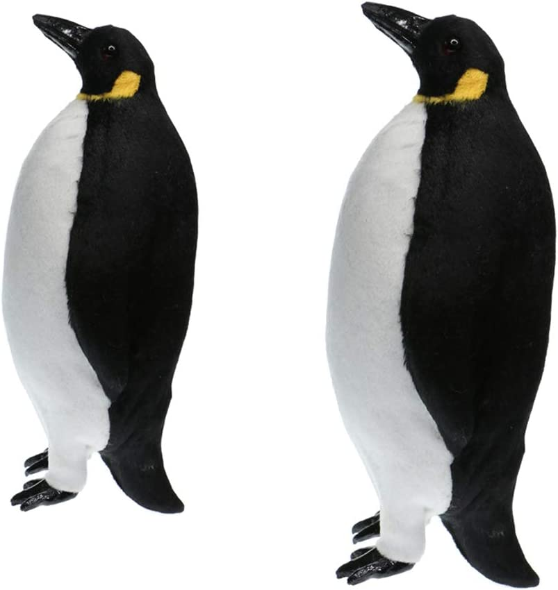 Emperor Penguin with Baby Small Figurine Collectible Statue B
