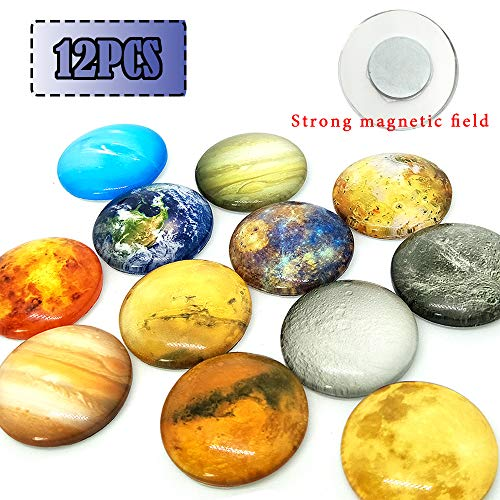 Refrigerator Magnets-Fridge Magnets-Office Magnets-12Pack Strong Neodymium Magnet-Upgraded Refrigerator Magnets Set,Used For Decorative Photo Abstract.