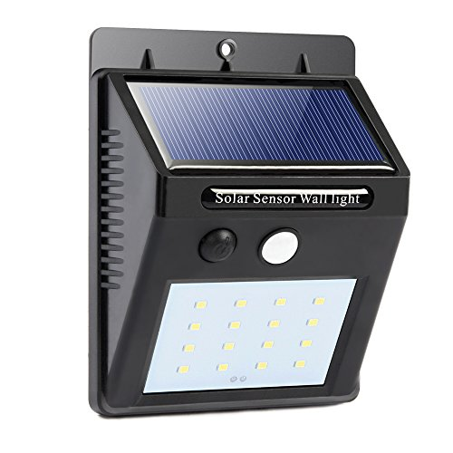 Solar outdoor lights bright 16 led solar power led security lights solar outdoor lights bright 16 led solar power led security lights with motion sensor wireless waterproof aloadofball Images