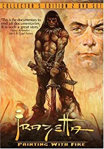 Frazetta: Painting with Fire [USA] [DVD]