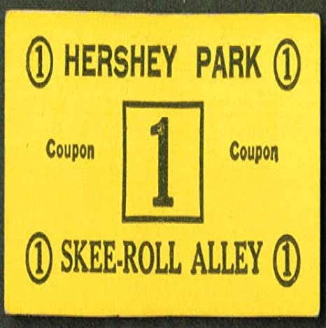 Hershey Park Skee Roll Alley 1 Coupon Ticket At Amazon S