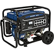 Powerhorse Portable Generator 4000 Surge Watts, 3100 Rated Watts, Electric Start, EPA Compliant