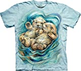 The Mountain Men's Big and Tall a Love Like No Otter, Green, 5XL