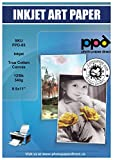 Photo Paper Direct PPD Inkjet Canvas 100% Real