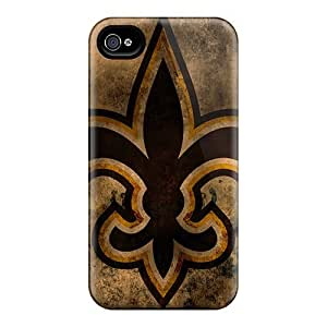 New CSB6654CEUB New Orleans Saints Skin Cases Covers Shatterproof Cases For Samsung Galaxy Note4