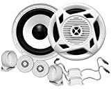 Earthquake Sound Marine MC5 5'' Matched Component Speaker Set