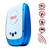 Seicosy Ultrasonic Pest Control Eliminator,Insect Repellent Plug In Drive Spiders Ants Moths Bugs Insect Mouse Rodent, Electromagnetic & Ultrasonic - Totally Safe for Humans and Pets,Advanced Home Pest Reject Control Equipment