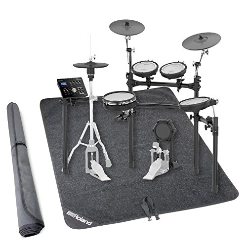 Mds 9 Stand (Roland TD-25K V-Drums Electronic Drum Set w/Stand and Non-Slip Drum Floor Mat)