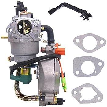 Amazon.com: fitbest Dual Fuel carburador Carb Kit de ...