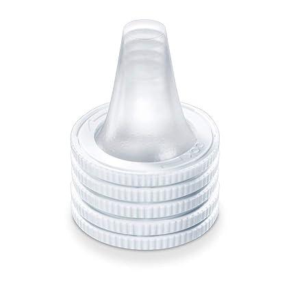Beurer FT 78 - Termómetro de oído, por infrarrojos, color blanco y gris