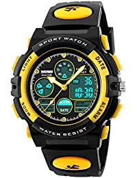 Kids Sport Digital Watch Boys Outdoor Waterproof Watches...