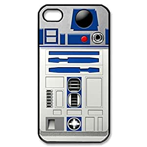 SUUER Custom Doctor Star wars R2D2 Skin Personalized Custom Hard CASE for iPhone 4 4s Durable Case Cover by lolosakes