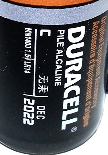 Pack of 80 Duracell MN1400 C Size Duralock Alkaline Battery - Bulk Pack by Duracell (Image #2)