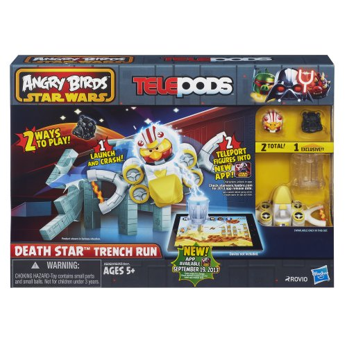 Angry Birds Star Wars Telepods Death Star Trench Run Playset (Star Wars Angry Birds Game)