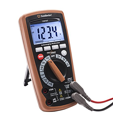 Southwire Tools & Equipment 12070T- Best Multimeter for Computer Repair
