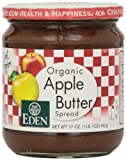 Eden Foods Apple Butter, Og, 17-Ounce (Pack of 3)