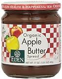 Eden Foods Apple Butter, Og, 17-Ounce (Pack of 3)