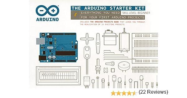 Arduino Starter Kit: Amazon.es: Libros en idiomas extranjeros