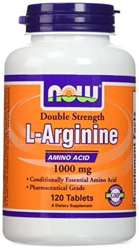 NOW Foods L-Arginine 1000mg, 120 Tablets (2 Pack) by NOW Foods (Image #3)