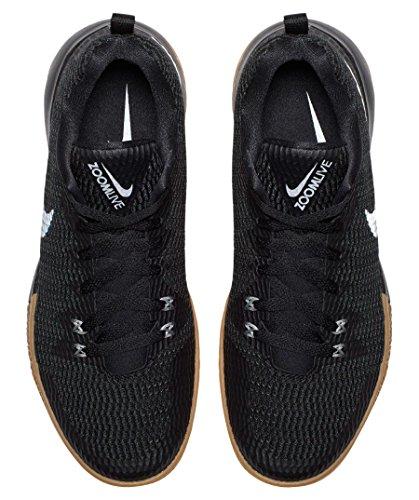 Reflect Fitness Black Silver Nike Uomo Live da 001 II Scarpe Nero Zoom HqvzaqwX