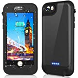 iPhone 8/7 Waterproof Battery Case, QI Wireless Charging Compatible,Temdan 3250mAh Charging Case with Screen Protector Rechargeable Charger Case Extended Battery Case for iPhone 8/ iPhone 7(4.7inch)