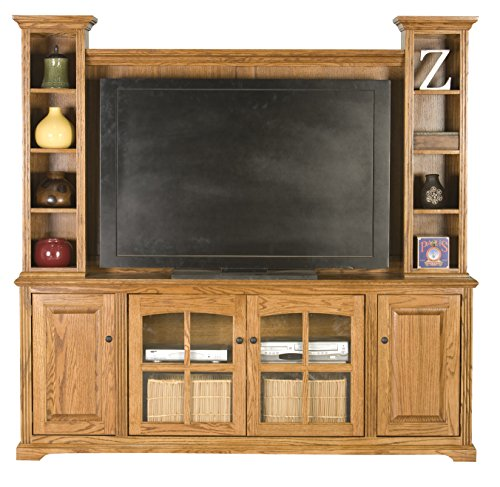 Eagle Furniture Manufacturing Oak Ridge Entertainment Console & Hutch, 80