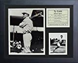 Legends Never Die Ty Cobb Bats Framed Photo Collage, 11 by 14-Inch