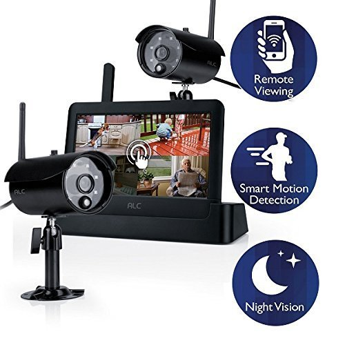 ALC AWS3266 7-Inch Connected Touch Screen Surveillance System (Black) by ALC