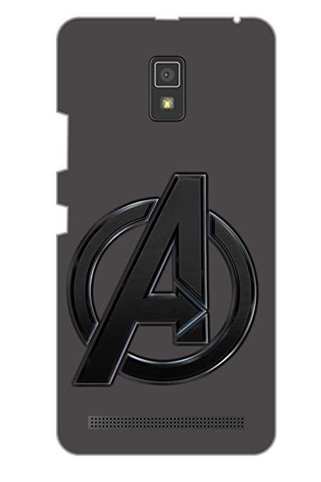 separation shoes 3548a 8f584 AMAN Avenger 3D Back Cover for Lenovo A6600 Plus: Amazon.in: Electronics