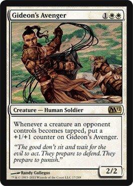 Magic: the Gathering - Gideon's Avenger - Magic 2012 - Foil
