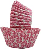Regency Wraps Greaseproof Baking Cups, Pink Pinwheel, 40 Count, Standard.