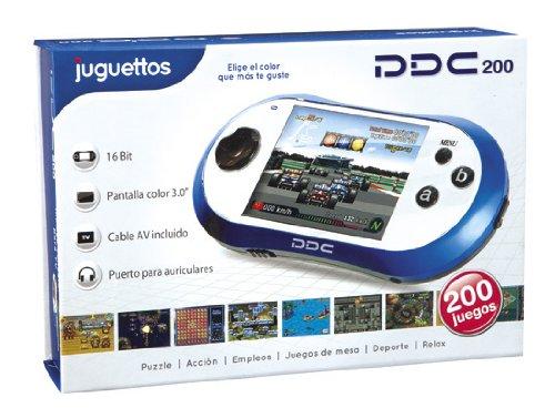 Juguettos Consola PDC 200 Juegos Azul