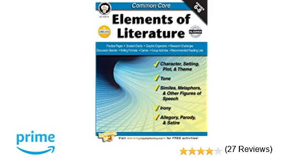 Amazon.com: Common Core: Elements of Literature, Grades 6 - 8 ...