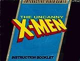 Uncanny X-Men Nintendo Instruction Booklet / Manual (NES Manual Only) (Nintendo NES Manual)