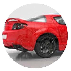 alfombrilla de ratón sector automático, sección plana, mecánica interna, chequeo - ronda - 20cm